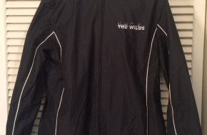 Ladies' North Carolina The Wilds water-resistant, hooded jacket, size small